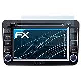 atFoliX Displayschutzfolie für Blaupunkt Philadelphia 835 Schutzfolie - 3 x FX-Clear kristallklare Folie