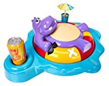 TOMY Fizzy Dizzy Hippo - Hilarious Children\'s Spinning and Burping Hippo Game For 2 to 4 players - Suitable From 4 years