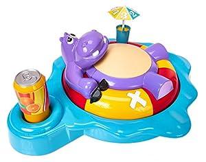 TOMY Fizzy Dizzy hipopótamo niños de Preescolar Juego de Acción