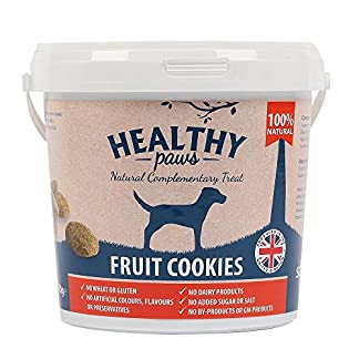 Healthy Paws Fruit Cookie Treats 500g Bucket : full of fruity goodness. 51Sjvxo9YcL
