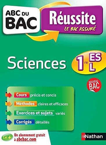 ABC du BAC Réussite Sciences 1re ES.L par Nicolas Cohen