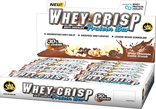 All Stars Whey-Crisp Bar, White Chocolate Cookie Crunch, 24er Pack (24 x 50 g) - 9