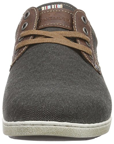 Tom Tailor 9681201, Chaussures lacées homme Noir