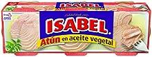 Isabel - Atún en aceite vegetal 240 gr - Pack de 5 (Total 1200 grams)