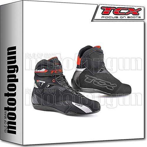 TCX Scarpe Stivali Moto 9505W Rush Waterproof Nero tg 43/9