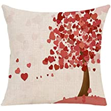 ¡Gran promoción!☆Rovinci☆Feliz Día de San Valentín Throw Pillow Case Love