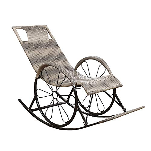 chaise lognue de jardin pour seniors