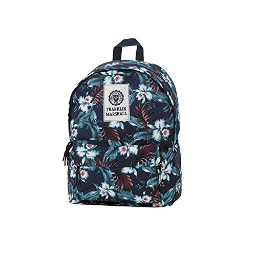sac-a-dos-1-compartiment-franklin-marshall-aloha-flower-allover