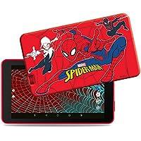 """eSTAR Themed Tablet (Spider-Man) - Tablette Internet - Cortex-A7 Quad-Core 1.3 GHz - RAM 1 Go - 8 Go - 7"""" tactile 1024 x 600 - Wi-Fi - Webcam - Android 6.0 ( Catégorie : Tablette Internet )"""