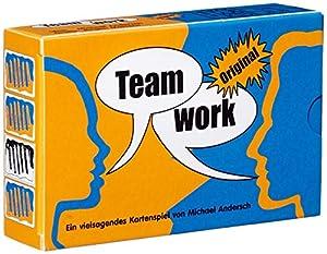 HCM Kinzel - Juego de Cartas Teamwork, 4 o más Jugadores (46148) (versión en alemán)