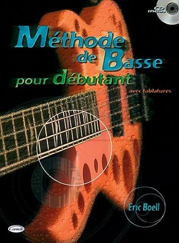 Boell Eric Methode De Basse Pour Debutant Bass Guitar Tab Bk/Cd French.