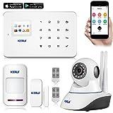 KERUI G18 KERUI G18 Android APP iOS Contrôle Sans fil Système de Sécurité GSM Système d'alarme sans fil Magnétique Fenêtre Capteur + Détecteur de Mouvement + IP Camera IR Infrared Surveillance Camaras Home Security...