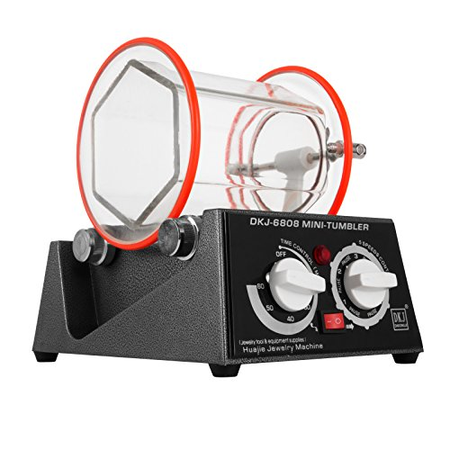 Tumbler (BananaB Poliermaschinen 3Kg Capacity Jewelry polishing machine 220V Jewelry Tumbler Polierer 150 * 150mm Jewelry Polisher Finisher)