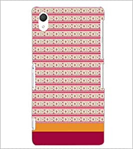 SONY XPERIA Z2 PINK PATTERN Designer Back Cover Case By PRINTSWAG