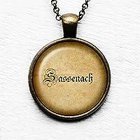 Outlander Sassenach Spelling #2 Anhänger und Halskette