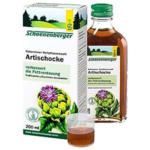 Salus - Artichaut bio - Suc de plantes