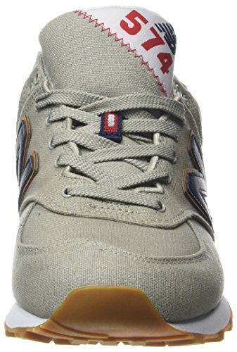 New Balance Ml574v2 Yatch Pack, Sneaker Uomo Bianco (White)