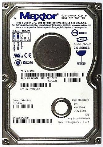 Maxtor DiamondMax Plus 9 Disque dur interne ATA/133 ID7529 80