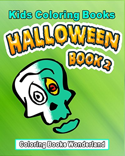 Kids Coloring Books - Halloween Book 2