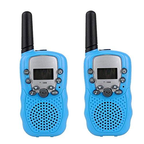 Preisvergleich Produktbild PMR Funkgerät Sprechfunkgerät Walkie Talkie mit LC-Display 2er Set 8 Kanäle Reichweite bis zu 2km