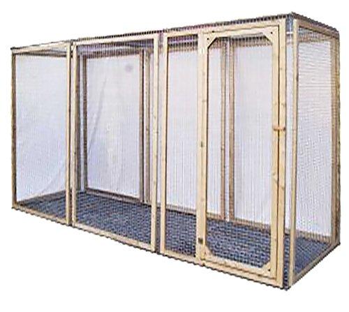 Enclos poule anti-prédateurs hauteur 180 cm made in france Taille 4 mètres
