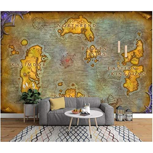 wallpaper 3d wandbild europäischen alten karte online spiel karte hintergrund tapeten papel de parede 250x175cm