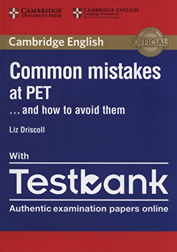 Common Mistakes at PET. Libro + Testbank (online tests)