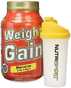 Nutrisport Weightgain Banana 1.4Kg