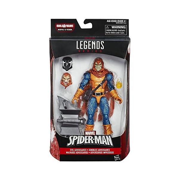 """Marvel Spider-Man 6"""" Legends Series Evil Adversarios: Hobgoblin (interrumpido por el Fabricante) 2"""