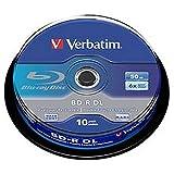 Blu raybd-r DL50GB6x SPIN10Pack Blank media e RAM ottico