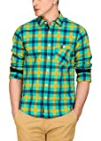 Fern Green & Yellow Chequered Shirt(1189...