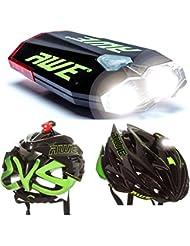 AWE® AWEDual 360°™ USB Recargable de bicicletas Doble Casco de la luz delantera / trasera 40 lúmenes