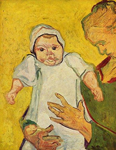 Das Museum Outlet-Augustine Roulin mit ihr Kind von van Gogh-Poster (61x 45,7cm) (Kinder-vans Verkauf Für)