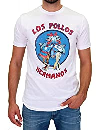 DSguided Vintage T-Shirt Los Pollos Hermanos Breaking Bad Herren Heisenberg Serie