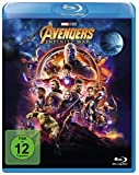 Avengers: Infinity War [Blu-ray] - Mit Chris Evans, Robert Jr. Downey, Scarlett Johansson, Chris Hemsworth, Mark Ruffalo