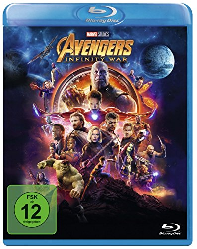 Avengers: Infinity War [Blu-ray] (Alle Man Spider)
