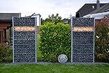 LED Leuchte für Gabionen Terrassen und Garten 1m warmweiss 360° Abstrahlwinkel