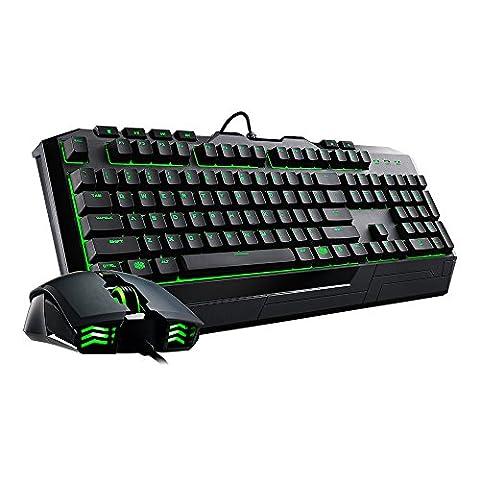 Cooler Master Devastator II USB QWERTY schwarz Tastatur und Maus Combo-US-Layout