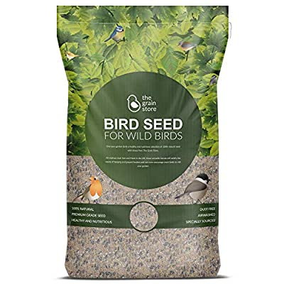 The Grain Store Wild Bird Food Premium Seed Mix for Tables & Feeders by The Grain Store