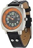 Club Jungen - Armbanduhr Analog Quarz Kalender Leder A65134S5A