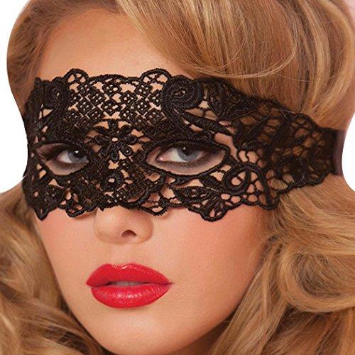 Cadiyo Frauen Fashion Eyewear sexy Maske für Masquerade Nachtclub Party-Anbieter (Dekorationen Gras Prom Mardi)