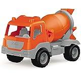 #0107 Sandspielzeug Betonmischer Kinder Fahrzeug Baustelle Mixer Garten Spielzeug Auto • Robuster mit drehbarer Trommel ab 18 Monaten