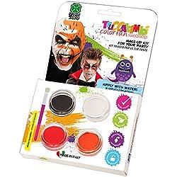 Carnival Toys Kit de maquillaje al agua profesional de vampiro, con pincel en caja, multicolor (7381)