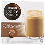 Grocery - Nescafe Dolce Gusto Cafe Au Lait Coffee Pods 16 Capsules - Pack of 3 (Total 48 Capsules)