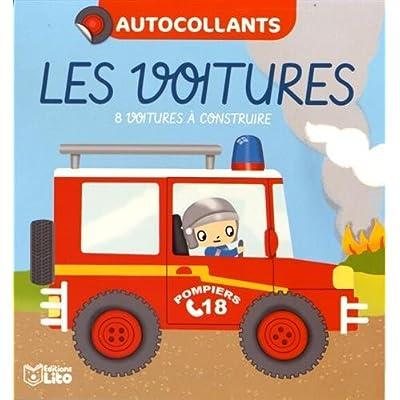 Mes petits blocs en autocollants: Les voitures - Dès 4 ans