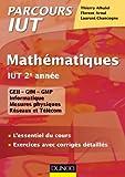 Image de Mathématiques IUT 2e année : L'essentiel du cours, exercices avec co