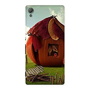 Special Cutest Hut Print Back Case Cover for Xperia Z3 Plus