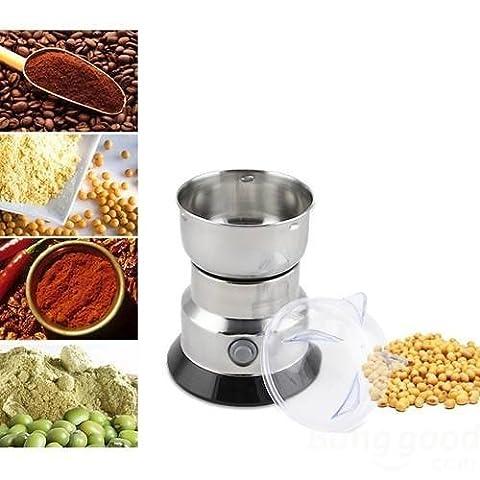 PhilMat 220V-240V Haushaltselektro Bean Essen Kaffee Schleifmaschine Grinder Miller Pulverizer�