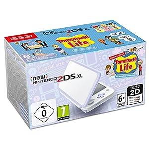 Nintendo New 2DS XL weiß Lavendel inkl. Tomodachi Life