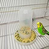 Jiamins Vogelfutter Futterwasser Fütterung Automatische Trinker Papagei Pet Clip Dispenser Cage